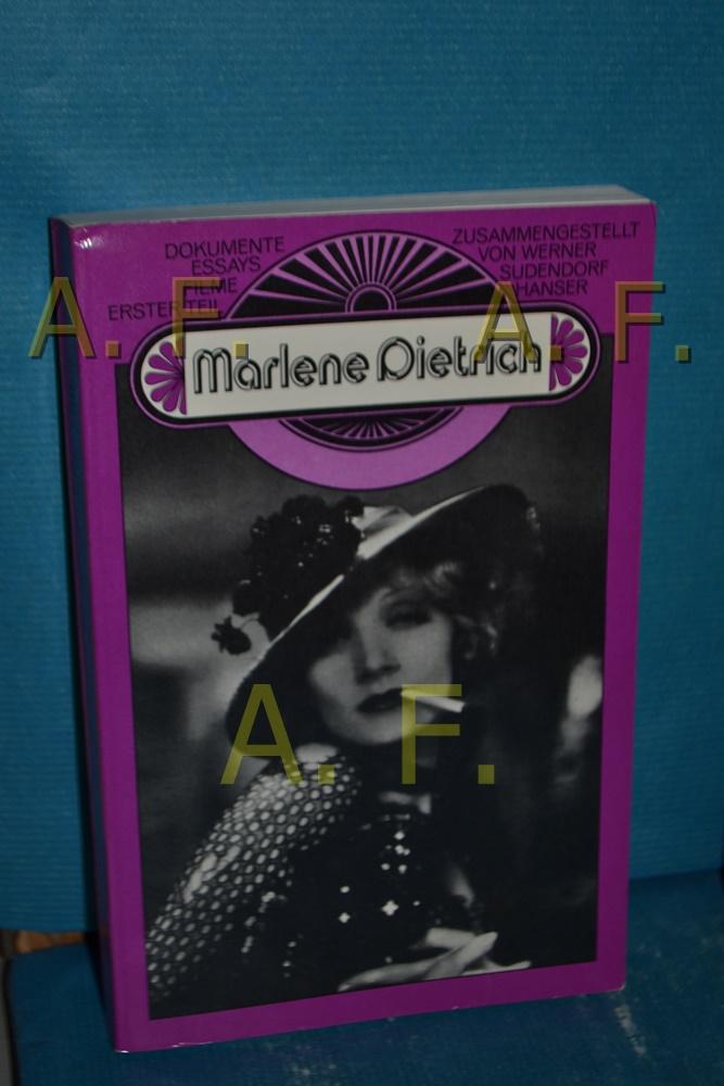 Marlene Dietrich, Dokumente / Essays / Filme / Teil 1 Internat. Filmfestspiele Berlin. Stiftung Dt. Kinemathek. [Red. d. Bd.: Gero Gandert. Übers.: Cäcilie Glinz , C. Noll] / Retrospektive , 1977 - Gandert, Gero [Herausgeber]
