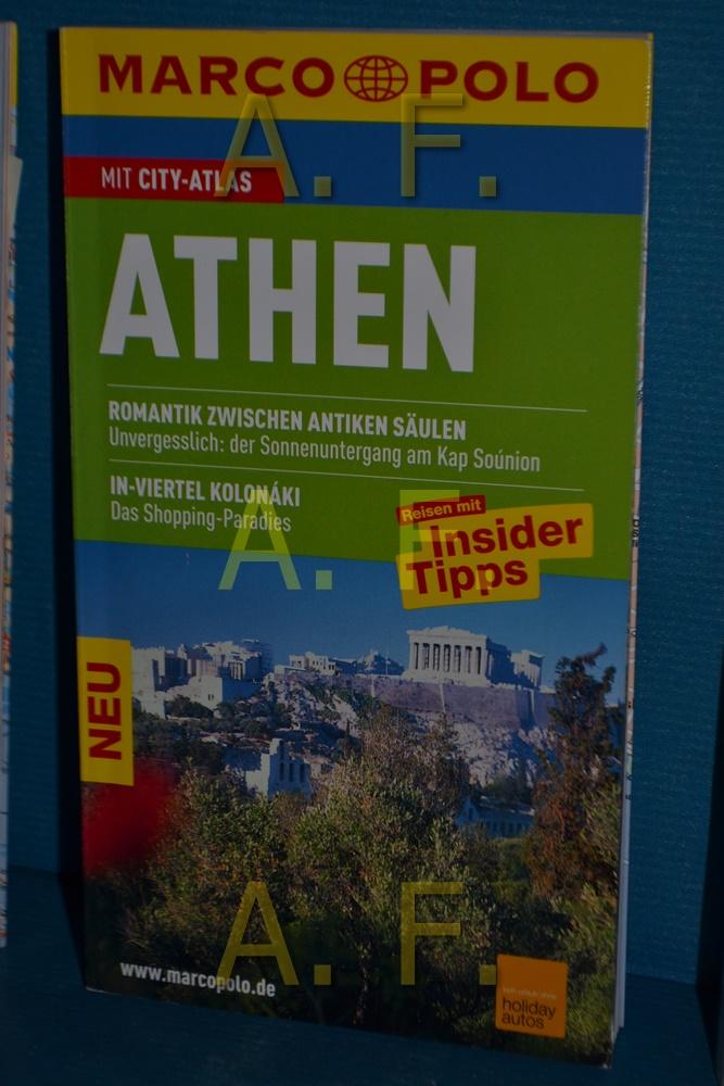Athen : Reisen mit Insider-Tipps , [mit City-Atlas]. Marco Polo 10., aktualisierte Aufl. - Bötig, Klaus