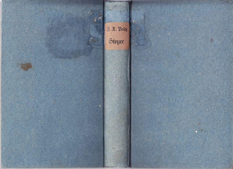 Beschreibung und Geschichte der Stadt Steyer und ihrer nächsten Umgebungen. Nebst mehreren Beylagen, betreffend die Geschichte der Eisengewerkschaft und die Klöster Garsten und Gleink. Mit einer Ansicht der Stadt Steyer.