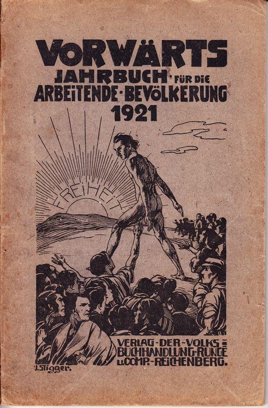 VORWÄRTS. Jahrbuch für die arbeitende Bevölkerung 1921.