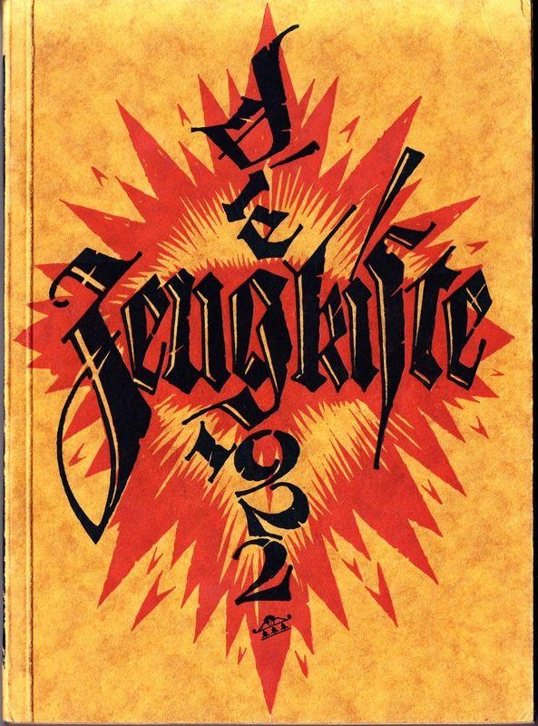 Die Zeugkiste 1922. Kurioser Almanach für Buchdrucker, Buchgewerbler, Buchfreunde.