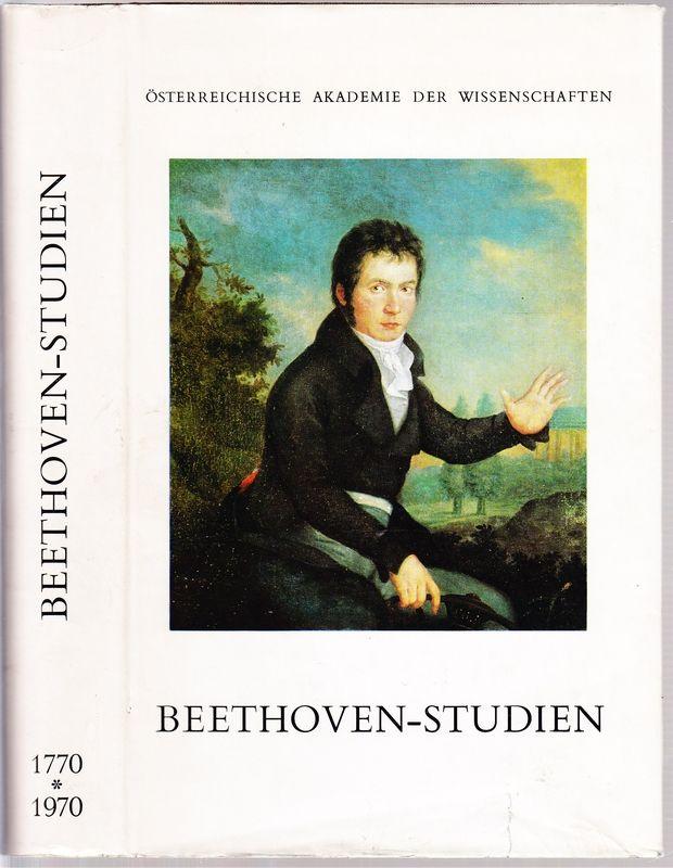 BEETHOVEN- SUDIEN. Festgabe der Österreichischen Akademie der Wissenschaften zum 100.Geburtstag von Ludwig van Beethoven.