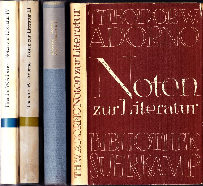 Noten zur Literatur.