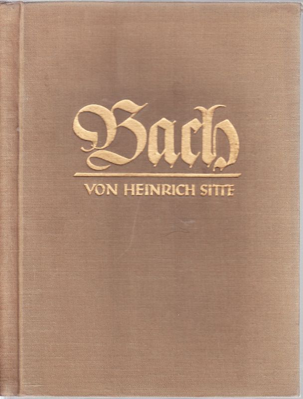 """Johann Sebastian Bach als """"Legende"""" erzählt."""