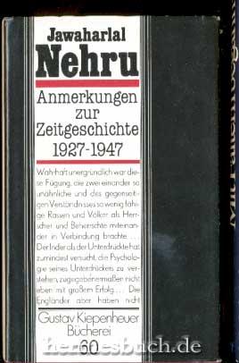 Anmerkungen zur Zeitgeschichte. 1927 - 1947.