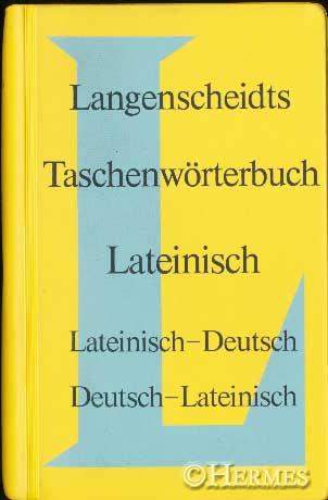 Langenscheidts Taschenwörterbuch der lateinischen und deutschen Sprache. Lateinisch-Deutsch. 20. Aufl. - Menge, Hermann [Hrsg.] und Erich [Bearb.] Pertsch
