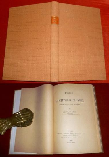 Étude Sur Le Scepticisme De Pascal. Considéré Dans Le Livre Des Pensées.