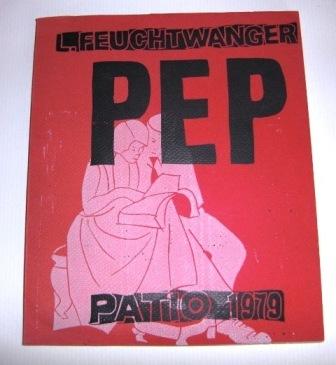 Lion Feuchtwanger PEP . J. L. Wetcheeks Amerikanisches Liederbuch.