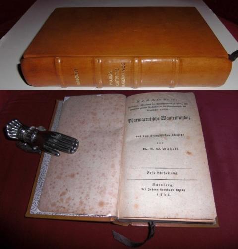 N.J.B.G. Guibourt. Hg. u. Übersetzung Dr. G.W. Bischoff N.J.B.G. Guibourt' s Pharmaceutische Waarenkunde. Erste Abtheilung.