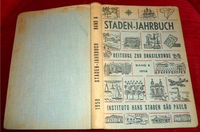 Staden - Jahrbuch. Beiträge zur Brasilkunde. Band 6 von 1958.