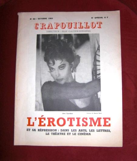 Hrsg. Jean Galtier-Boissiere Crapouillot - L`Erotisme et Sa Repression: Dans Les Arts, Les Lettres et Le Cinéma