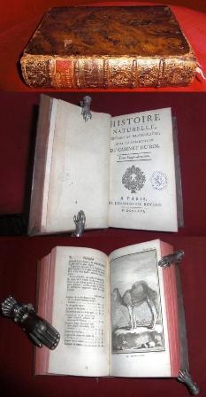 Histoire Naturelle, Generale et Particuliere Avec La Description Du Cabinet Du Roi, Tome Vingt-Deuxième, Tome Vingt-Troisième