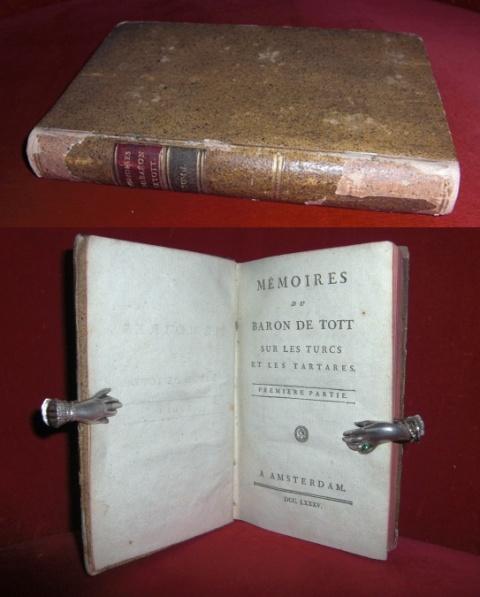 Mémoires Du Baron De Tott, Sur Les Turcs et Les Tartares, Première Partie (Tome I)