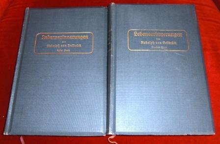 Lebenserinnerungen Von Rudolph Von Delbrück 1817 - 1867. Mit Einem Nachtrag Aus Dem Jahre 1870, 2 Bde.