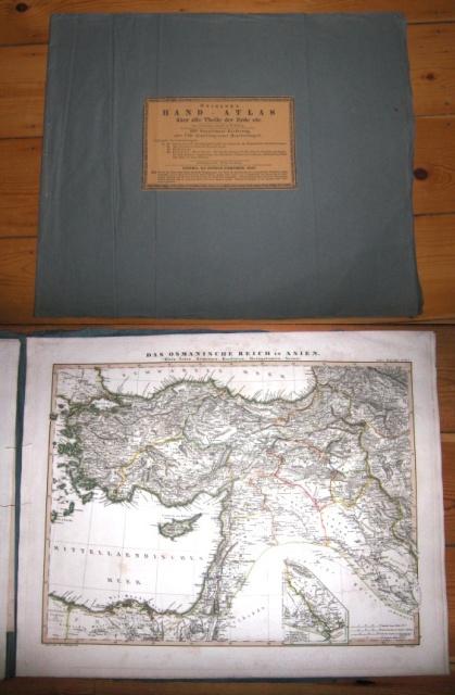 Stieler`s Hand-Atlas Über Alle Theile Der Erde Etc. Zur Vollständigen Ausgabe in 83 Blättern.