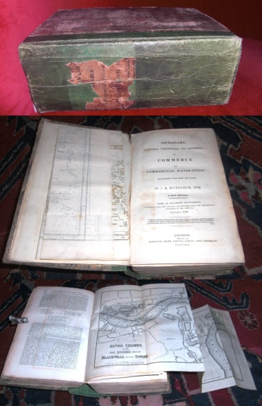 Dictionary, Practical, Theoretical, and Historical of Commerce and Commercial Navigation: Illustrated with Maps and Plans.