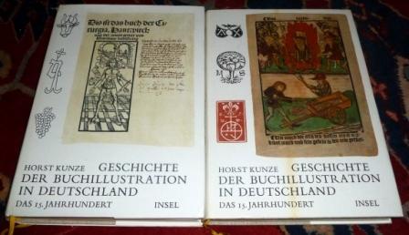 Geschichte Der Buchillustration in Deutschland. Das 15. Jahrhundert. Textband Und Bildband, 2 Bde.