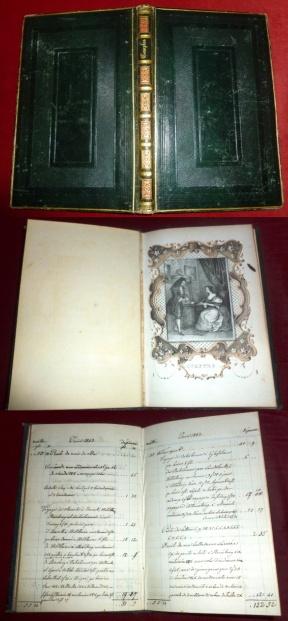 Comptes (Rechnungen), Livre De Recettes et De Dépenses (Haushaltsbuch)