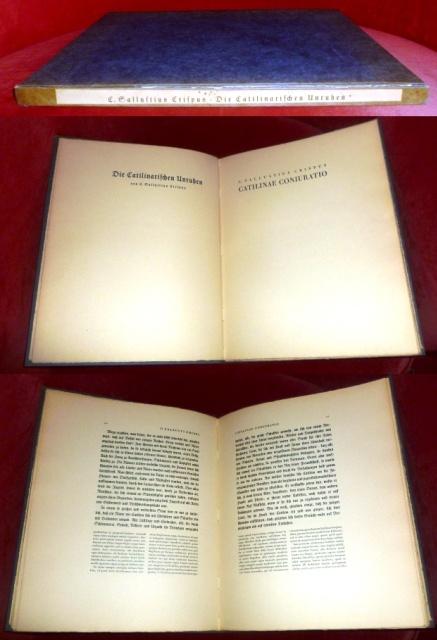 Die Catilinarischen Unruhen. Catilinae Coniuratio.