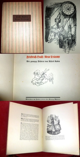 Friedrich Huch. Neue Träume. Mit Zwanzig Bildern Von Alfred Kubin.