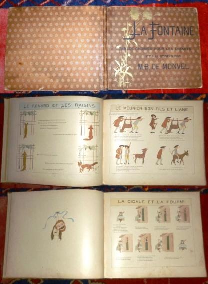 La Fontaine. Fables Choisies Pour Les Enfants et illustrées Par M. B. De Monvel.