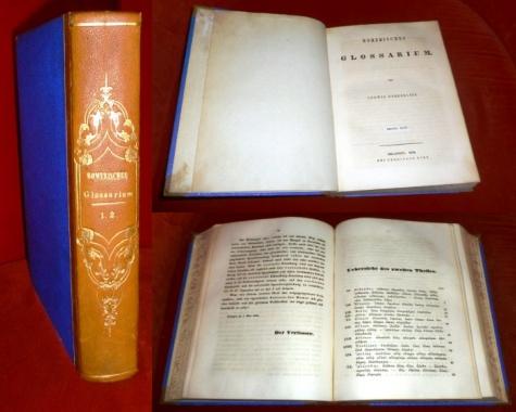 Homerisches Glossarium. Bände I - II (=Alpha - Omega) in 1 Band.