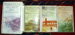 Emilie und Theodor Fontane. Der Ehebriefwechsel. 3 Bde, komplett.