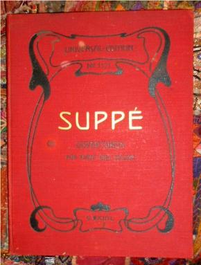 6 Beliebte Ouverturen von Franz von Suppé. Für Pianoforte und Violine. Eigenthum des Verlegers.