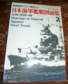 Drawings of Imperial Japanese Naval Vessels., Vol. 7, No.360/2.