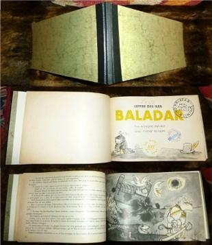 Lettre des Iles Baladar. Dessins d