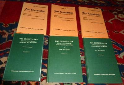 Das Eiszeitalter. Grundlinien Einer Geologie Des Quartärs. 3 Bde.