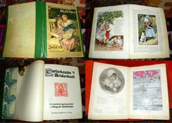 Gartenlaube. Bilderbuch. Der deutschen Jugend gewidmet vom Verlag der Gartenlaube.