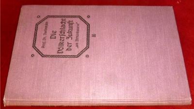 """Die Völkerschlacht der Zukunft """"am Birkenbaume"""". Sagengeschichtlich dargestellt von Prof. Dr. Friedr. Zurbonsen."""