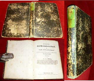 Homöopathisches Taschenwörterbuch, für das Haus, die Reise und das Krankenbett. Nach dem heutigen Standpunkte der Wissenschaft für junge Praktiker bearbeitet von Dr. med. Altschul.