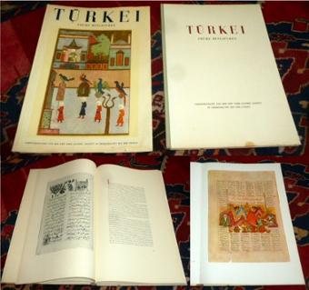 Richard Ettinghausen Türkei : Frühe Miniaturen.