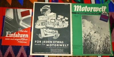 Der Deutsche Automobil-Club (DDAC), Hauptschriftleiter Ernst Hafer - Motorwelt, Die Illustrierte Zeitschrift Des DDAC. 17. Heft, 20. August 1937, 34. Jahrgang