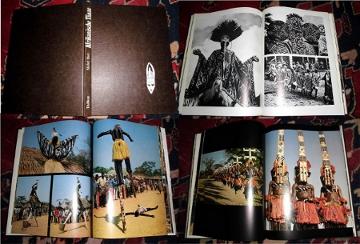 Afrikanische Tänze. Mit einer Einführung von Jean Laude und ethnographischen Beschreibungen von Jean-Louis Paudrat.