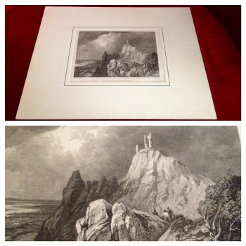 Original-Stich: The Drachenfels