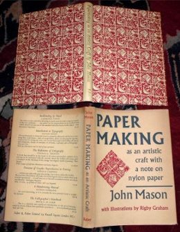 Paper Making as an Artistic Craft: With a Note on Nylon Paper.