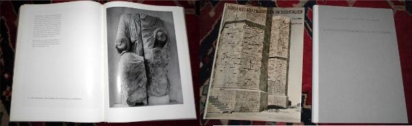 Hohenstaufenburgen in Süditalien. Text und Abbildungen von Hanno Hahn. Bildtafeln von Albert Renger-Patzsch.