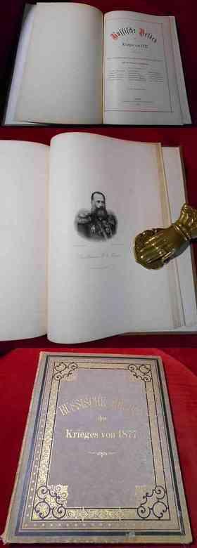 Russische Helden des Krieges von 1877. Eine Schilderung des Russisch-Türkischen Krieges mit 15 Portraits in Stahlstich