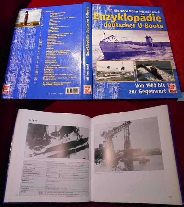 Enzyklopädie deutscher U-Boote. Von 1904 bis zur Gegenwart