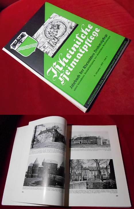 Landeshauptmann der Rheinprovinz (Hrsg.) Rheinische Heimatpflege - 9. Jahrgang 1937 Heft 4.: Jahrbuch der Rheinischen Heimatpflege unter besonderer Berücksichtigung der rheinischen Wasserburgen
