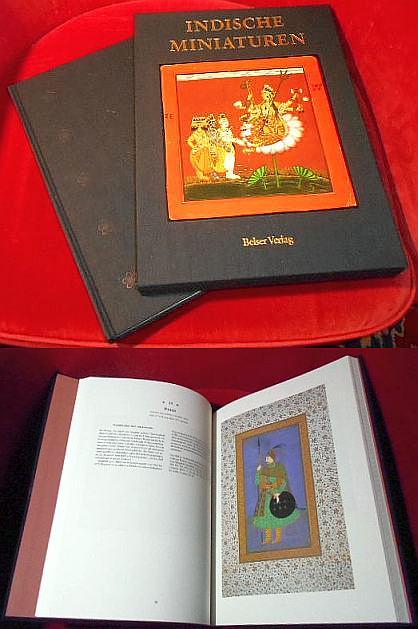 Daniel J. Ehnbom, Mit Beiträgen Von Robert Skelton Und Pramod Chandra, Vorwort Wilder Green Indische Miniaturen. Die Sammlung Ehrenfeld