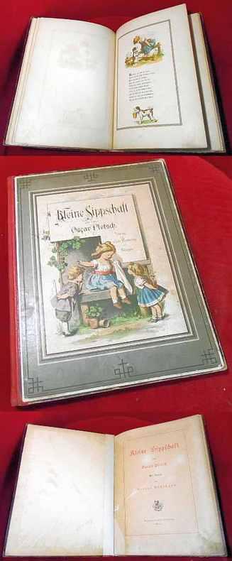 Kleine Sippschaft Von Oscar Pletsch. Mit Versen Von Victor Blüthgen
