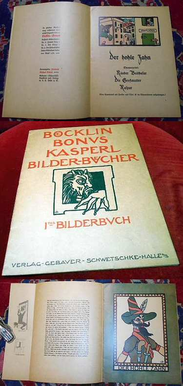 Böcklin-Bonus Kasperl Bilder-Bücher. Ites Bilderbuch