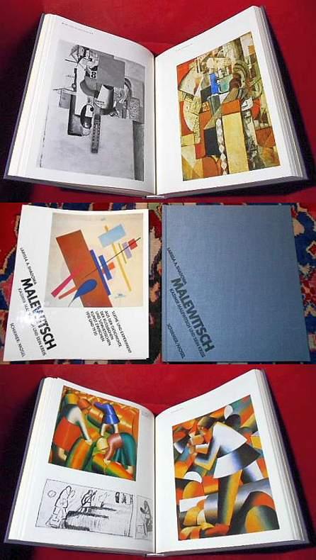 Malewitsch. Kasimir Malewitsch und sein Kreis. Suche und Experiment. Aus der Geschichte der russischen und sowjetischen Kunst zwischen 1910 und 1930
