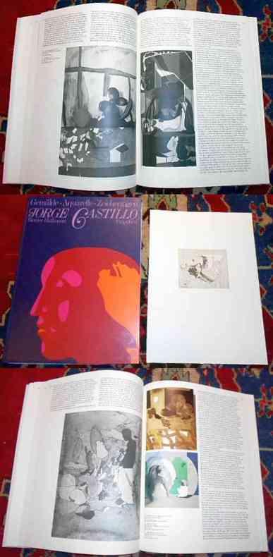 Jorge Castillo. Gemälde, Aquarelle, Zeichnungen