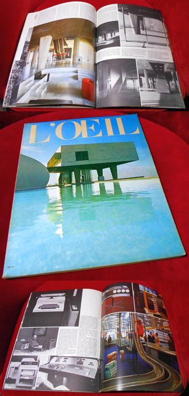 L`Oeil. Revue d`art mensuelle. Novembre  1972. No 215