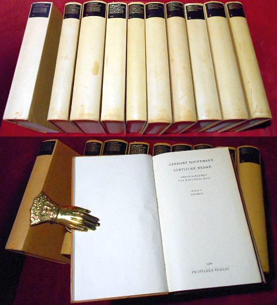 Sämtliche Werke.. Centenar-Ausgabe zum hundertsten Geburtstag des Dichters  11 Bände..